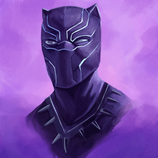 I watched the Black Panther movie and loved it! So here is a fanart piece! Would recommend everyone to go watch it if you're into superhero movies.