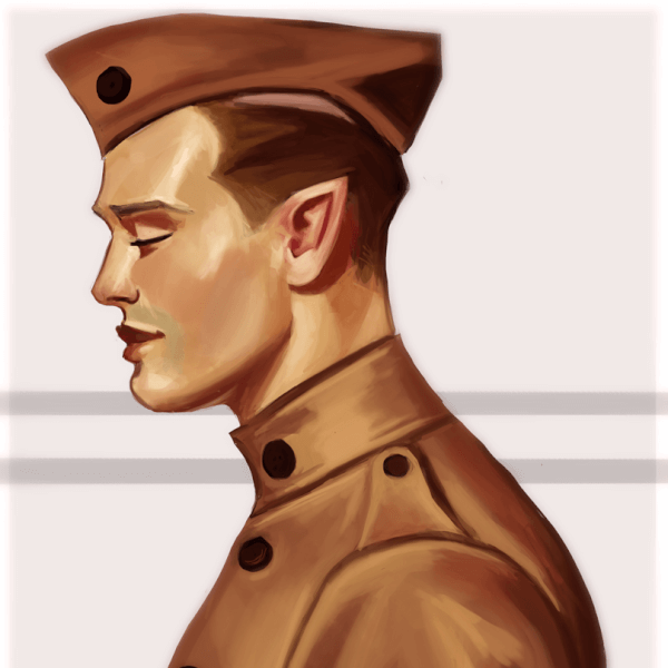 Here is a new Leyendecker Painting Study!