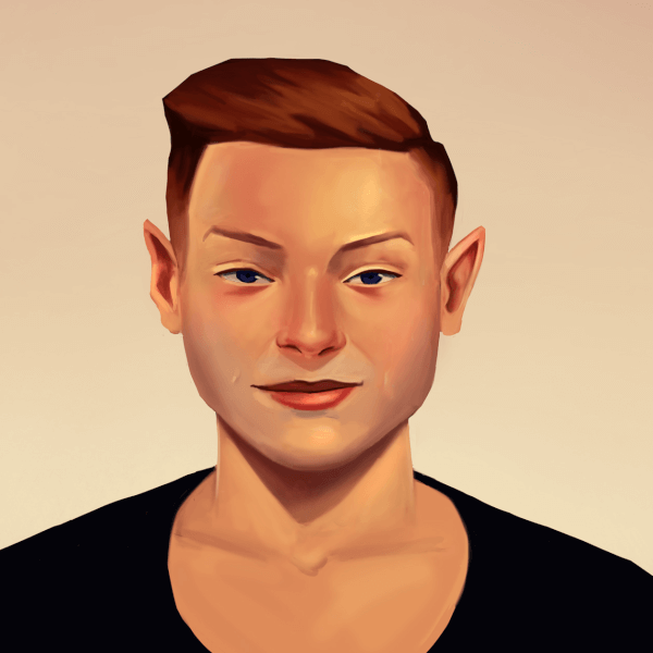 Hey Everyone! New Avatar Image Here! It's a self portrait. It's also fun to see how your style and art changes and improves over the years. The other self portrait before that was done about over half a year ago, so this one definitely is way better.